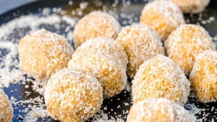 Mel's Lemon Protein Balls